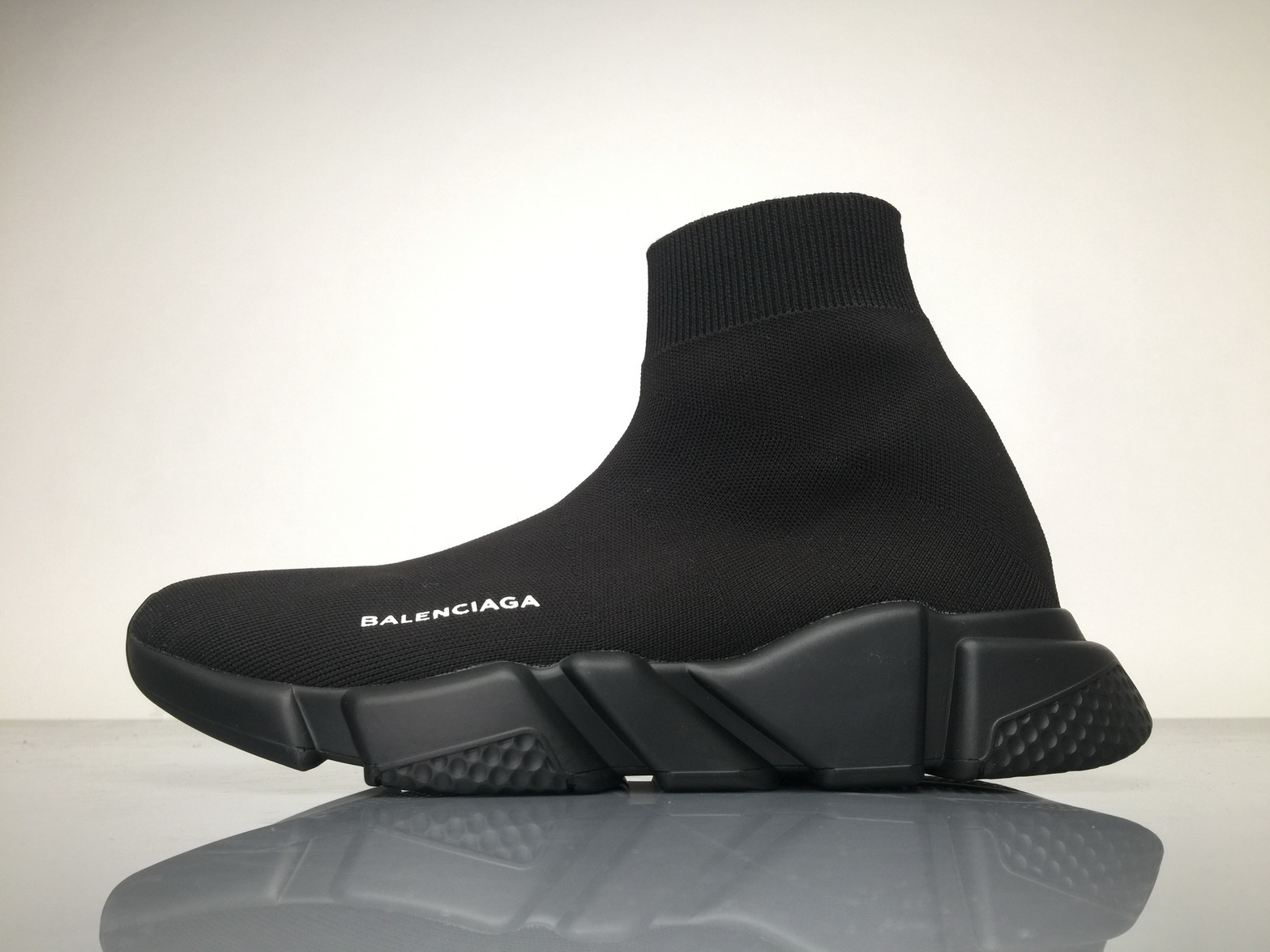 all black balenciaga